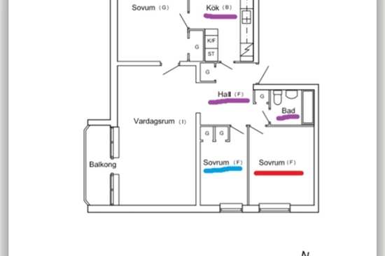15 m2 rum i Halmstad uthyres